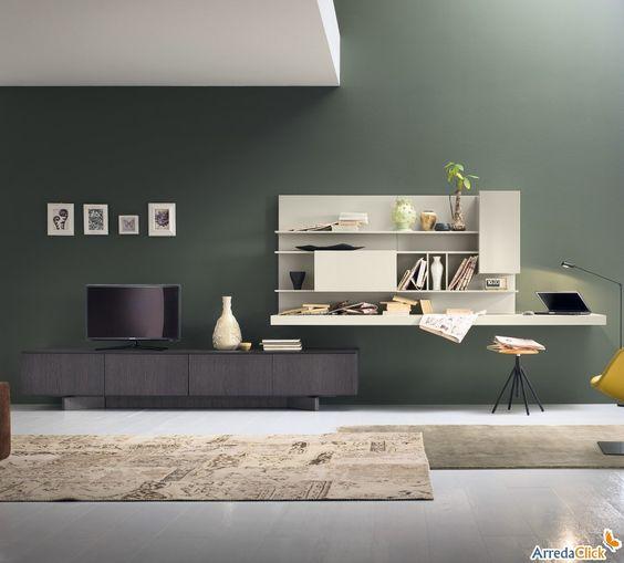 Ikea wohnwand mit schreibtisch interessante for Lipo schreibtisch
