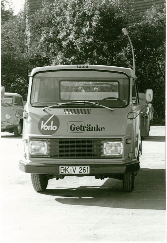 Vorlo Getränkedienst Laster --- delivery service truck for (soft ...