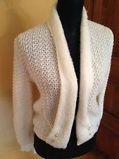 Vintage Cream Sweater, S/M, Total Hipster!