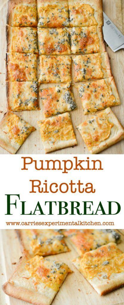 Pumpkin Ricotta Flatbread