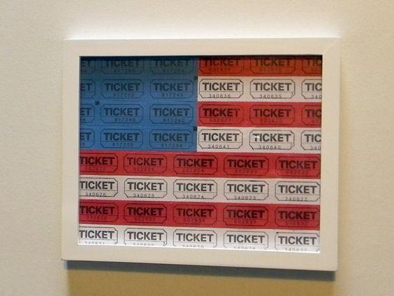 Tickets American Flag