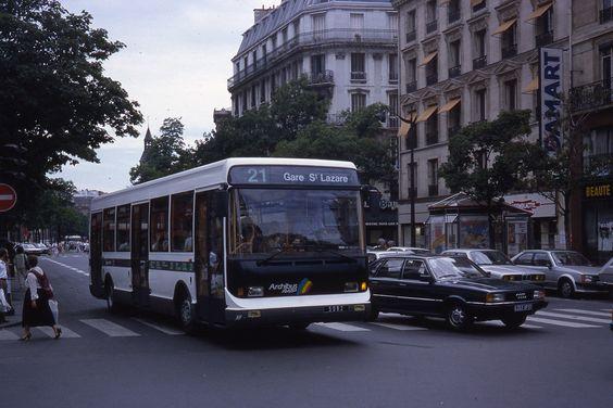 RATP ligne 21
