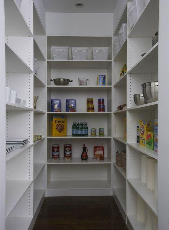 Suzie Lynn Morgan Design U Shaped Pantry With White