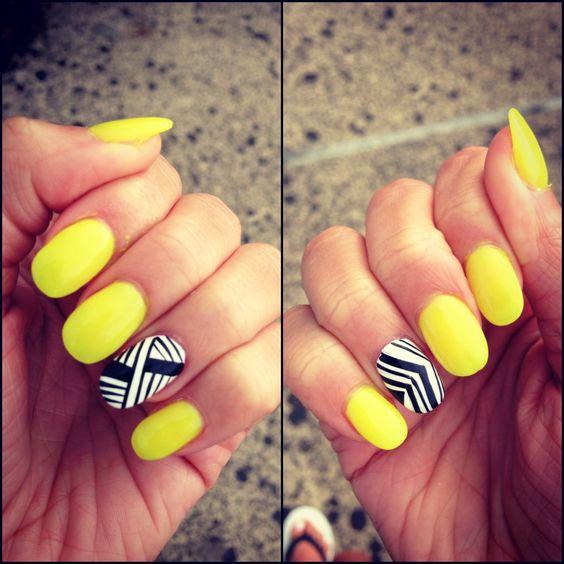 Neon yellow. Summer ready.