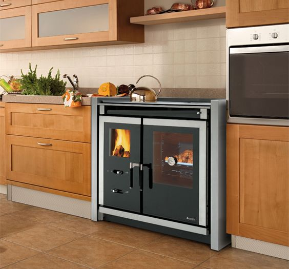 Küchen-Hexe Küchenhexe Küchenofen Holzofen Landhausherd - küchen holzofen wasserführend