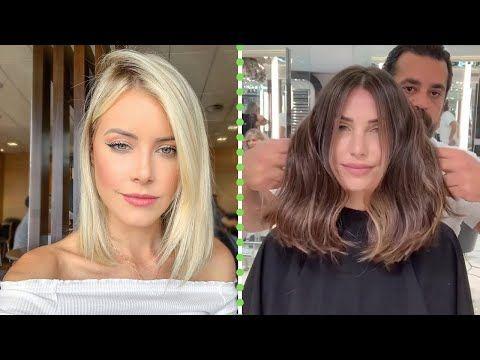 Hair Transformation Short Haircuts Long To Short Hair Trendy Hairstyles Hair Trends Youtube In 2020 Hair Transformation Short Hair Styles Long To Short Hair