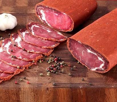 Pastırma, Láminas de carne de res seca, Turquía