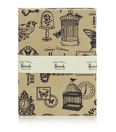 Harrods /   Curiosities Notebooks (Set Of 2).