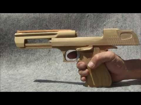 How To Make A Paper Desert Eagle That Shoots With A Trigger