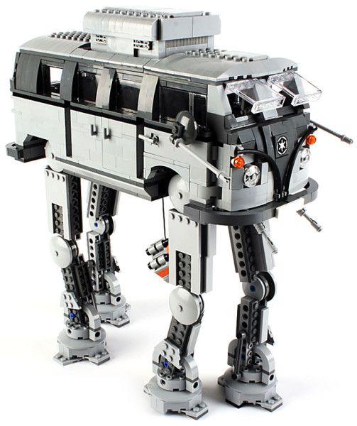 Imperial Lego Bulli Walker on http://www.drlima.net