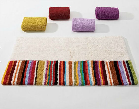 Colorful Bath Rugs . Abyss & Habidecor . Arizona . Decorative ...