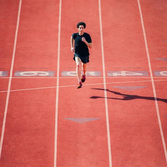 Keep up or change lanes.  Long before @CamLevins was known for speed, he was respected for miles. Cam was once known for running up to four times a day, every day.  Those four-a-days eventually led to the Olympics and even a 10k Canadian Record. Today, he logs the same miles, but at much higher speeds. #sofast
