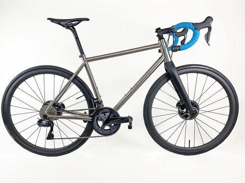 Pin By Unicorn Cycles On Custom Titanium Bikes Titanium Bike Flat Bar Road Bike Bike Kit