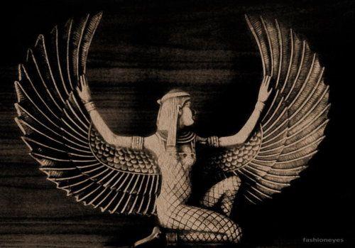 Isis.....diosa egipcia..