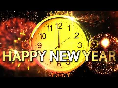 Happy New Year CLOCK 2019 ( v 683 ) Countdown Timer with Sound Effects + Voice 4K - YouTube | Happy new year, Happy new year gift, New year clock