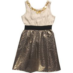 US ANGELS CIRCLE SKIRT DRESS (BIG KIDS):