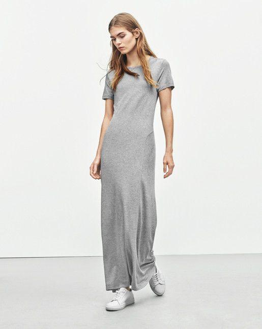 Filippa k jersey summer dress long sleeve