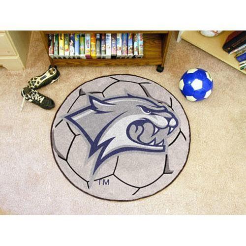 New Hampshire Wildcats NCAA Soccer Ball Round Floor Mat (29)