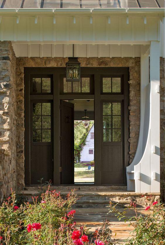 House tour american farmhouse design chic beautiful for American farmhouse style architecture