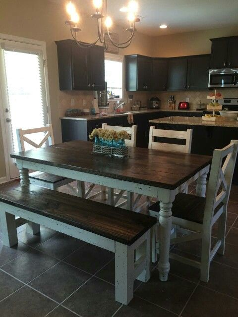 Gorgeous Kitchen Table And Chair Set Transformed By Aspirations UK Using  Frenchic Furniture Paint® | Painted Furniture Projects | Pinterest |  Kitchens, ...