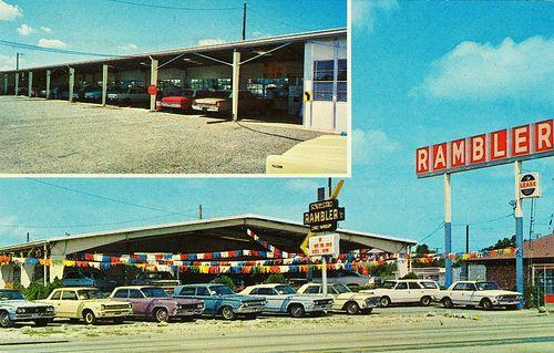 1960 S Schulstad Rambler Dealership Tampa Florida Car Dealership Dealership Rambler
