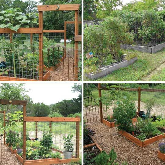 for our school garden--layer the raised beds and consider Sally's cinderblock idea instead of boards.  Easy to add cover or fencing into the holes; could help with rabbit control
