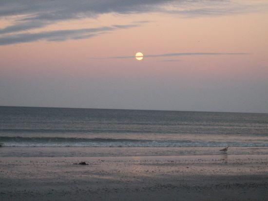Nantasket Beach  - Hull, MA - where I got married, August 28, 2010