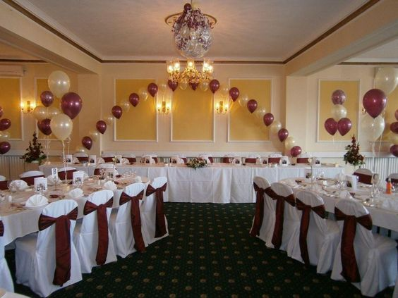Inexpensive ways to decorate walls for wedding reception for Cheap reception venue ideas
