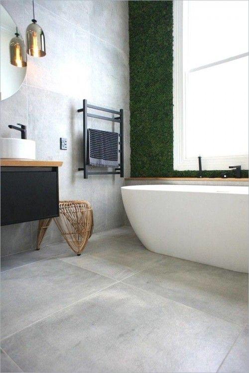 Badezimmer Ideen Badewanne Minimalistisches Badezimmer