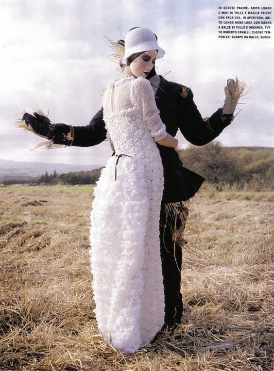 """Fairy Time"" by Tim Walker for Vogue Italia February 2009"