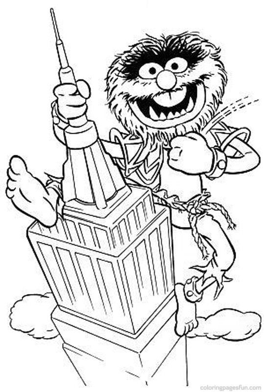 Muppets Coloring Pages 41 Cartoon Coloring Pages Coloring Pages Coloring Books