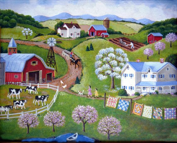 Country Afternoon ~ Steve Klein