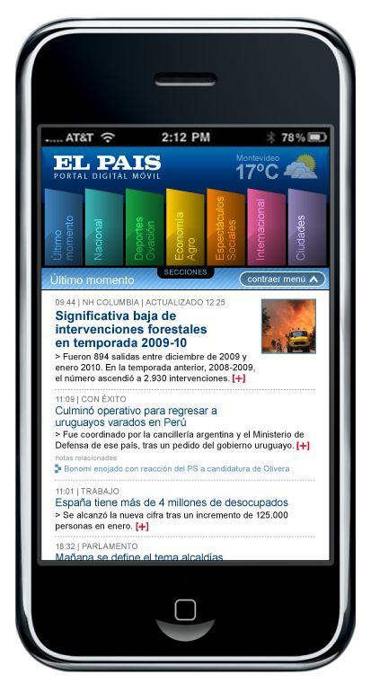 El Pais app