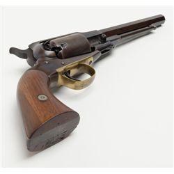"Remington-Beals Navy percussion revolver, martially-marked, .36 cal., 7-1/2"" octagon barrel, blue"