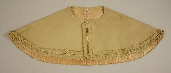 Ensemble (image 4) | American or European | 1830s | silk | Metropolitan Museum of Art | Accession #: C.I.46.82.17a, b