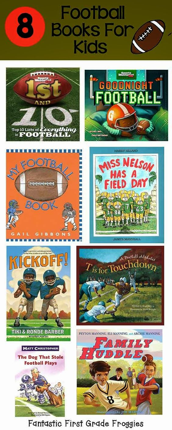 Touchdown! Football books for kids