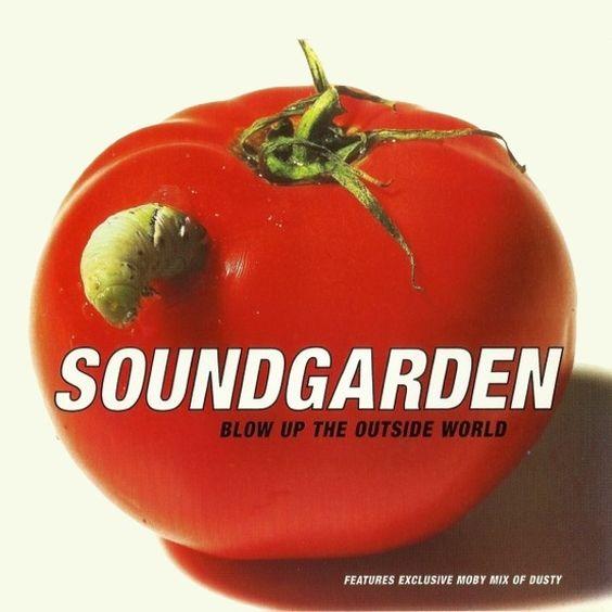 Soundgarden – Blow Up the Outside World (single cover art)