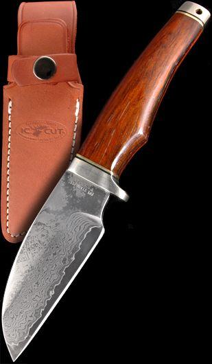 Hiro Knives Nobushi Forged Damascus