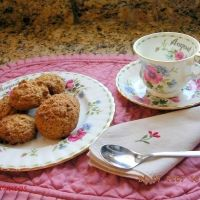 Oatmeal flax seed cookies. Just made these -- delicious and healthy!: