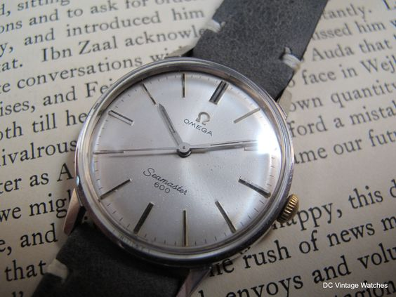 DCVW SALE: 1964 Omega Seamaster 600 Manual Dress Watch  This all-original Omega Seamaster comes with two straps, a Pelican travel case, and a 14-day warranty  http://www.dcvintagewatches.com/#!product/prd1/3956477961/1964-omega-seamaster-600-manual
