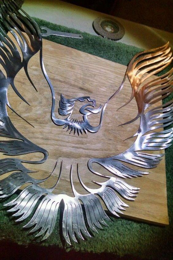 Pontiac Phoenix/Trans Am Firebird WS6 14 gauge mild steel wall art See Descript. #FBODYMETALVISIONS