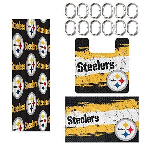 Pittsburgh Steelers Shower Curtains Steelers Pittsburgh Steelers Pittsburgh