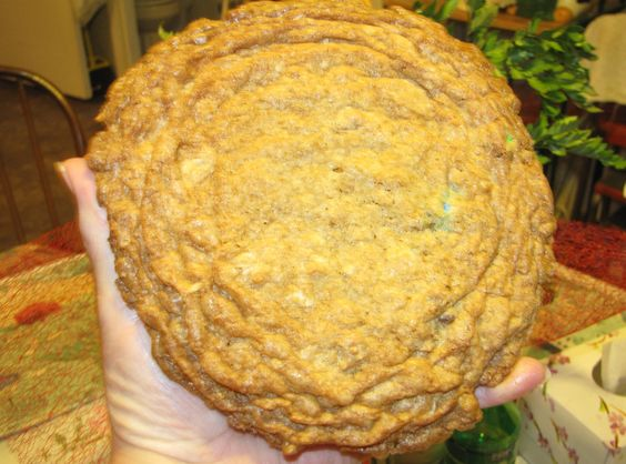 Buffalo Chip Cookie. Now that's a BIG cookie! From the recipe files of Lucille (totsie) Rodgers!