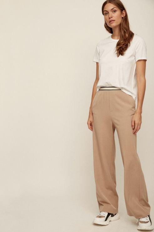 Coleccion Pantalones Khaki Estilo Casual Para Mujer Ropa