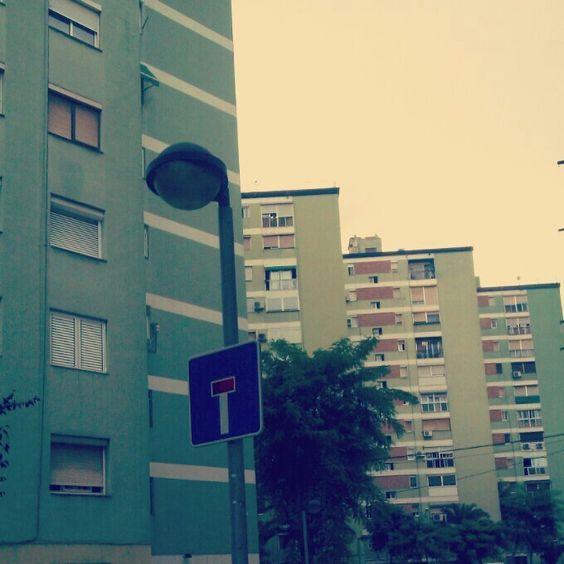 Los bloques verdes. Sant Ildefons