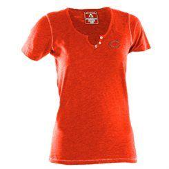 Antigua Chicago Bears Women's Spry V-Neck T-Shirt