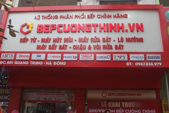 Nơi hội tụ các thương hiệu lớn như Bosch, Cata, Elo, Munchen,Giovni,Chefs,AMTS,Binova,