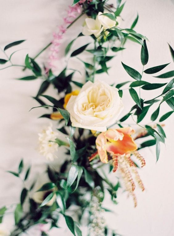 Pastel Botanical Bridal Inspiration Shoot | Milton Photography