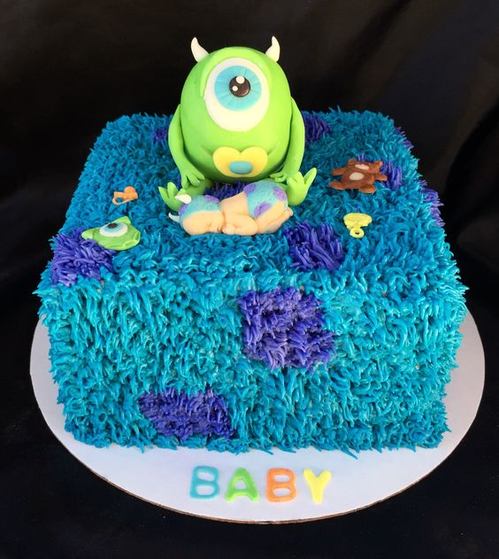 showers the babys baby showers baby shower cakes shower cakes monsters