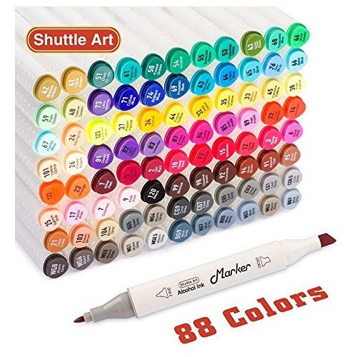 Paint Marker Pens Set for Metal,Rocks,Ceramic,Glass,12 Colors by Sun Cling